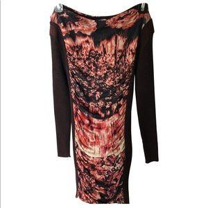 Jean Paul Gaultier draped dress